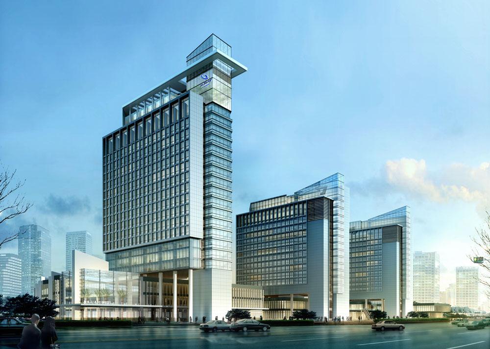 大楼效果图央视大楼高清效果图医院大楼效果图片