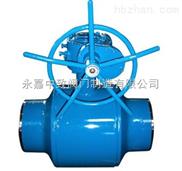 Q361F涡轮焊接球阀