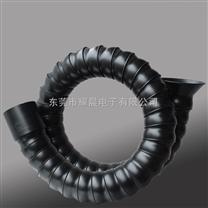 万向定位竹节管,免支撑定向管,焊锡吸烟管,黑色抽烟管,定向排烟管