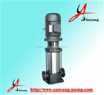 三洋多级泵供应商,GDL管道立式多级泵,无堵塞多级泵,多级泵原理
