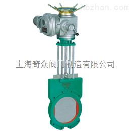 电动对夹式浆液阀