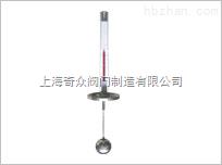 顶装式磁翻柱液位计,液位计