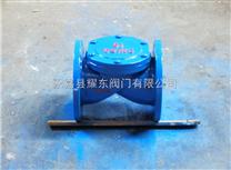 橡膠瓣止回閥價格 法蘭式橡膠止回閥 鑄鋼止回閥
