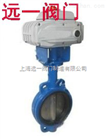 上海名牌产品D971X-10/D971X-16电动铸铁蝶阀
