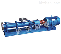 单级螺杆泵,不锈钢螺杆泵