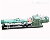 不锈钢螺杆泵,配减速电机螺杆泵