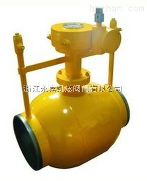 pn16-40 特点:燃气放散焊接球阀:适用于城市供热,城市燃气,天然气管线图片