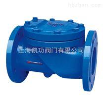 H44X(SFCV)橡膠瓣止回閥廠家-上海凱功閥門