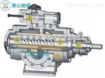 HSND1700-42三螺杆泵真空塔底燃料输送泵