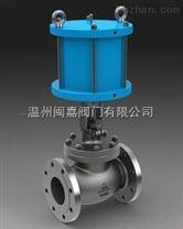 J641W不鏽鋼氣動截止閥
