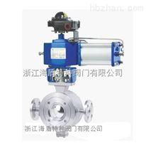 保温V型球阀专业生产厂家:东瓯泵阀小微创业园集体动工仪式