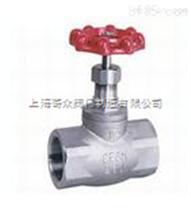 不鏽鋼螺紋截止閥 上海標一閥門 品質保證