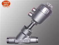焊接式不锈钢气动角座阀