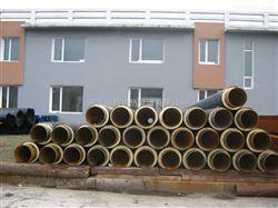 江苏姜堰地下管道冷热水保温材料高密度聚氨酯发泡保温管