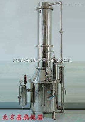 不锈钢塔式蒸汽重蒸馏水器TZ-200型
