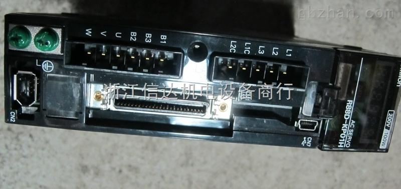 台州信达 二手欧姆龙伺服驱动器r88d-kp01h