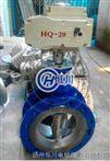 D943H電動鑄鋼法蘭式硬密封蝶閥