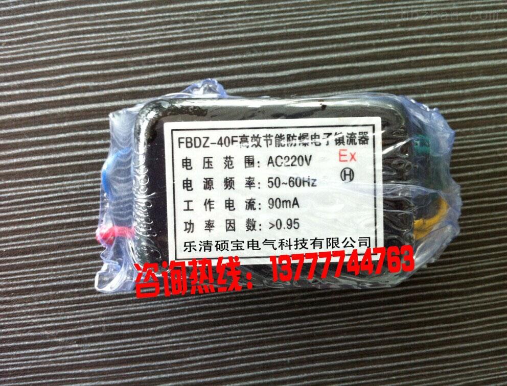 FBDZ-40E高效节能防爆电子镇流器