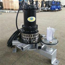 QFB浮筒式潜水曝气机 漂浮式安装方式