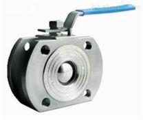 深圳球閥  Q671F  對夾薄型氣動球閥