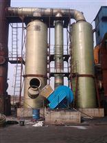 焙烧炉烟气脱硫塔|玻璃钢脱硫除尘塔|专业制作厂家