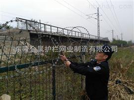 高铁桥梁防护栏