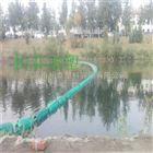 浮筒河道拦污漂浮网水上隔离带浮筒厂家