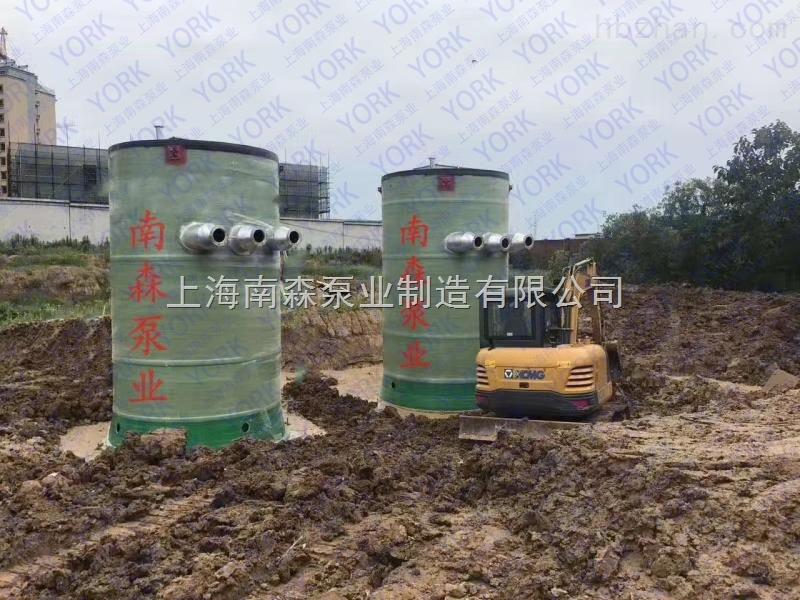 温州玻璃钢一体化预制泵站
