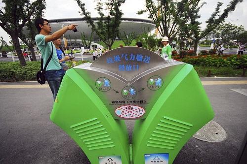 全国规模最大垃圾智能气力回收系统在天津投用