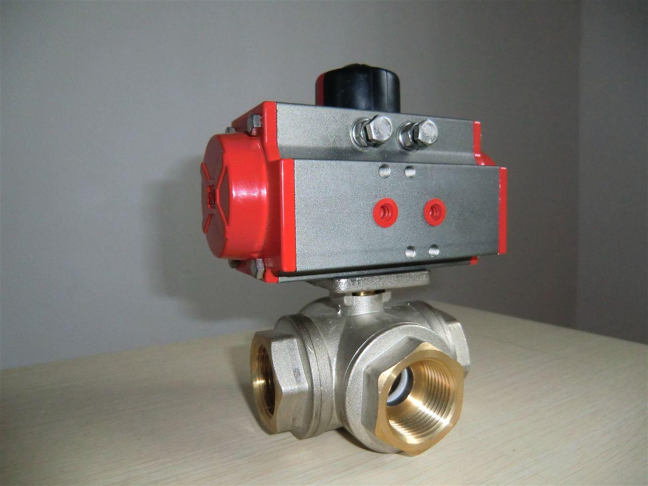泵/阀/管件/水箱 阀门 球阀 上海经瑞流体控制有限公司 电动三通球阀