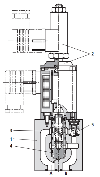 855流量放大阀结构图