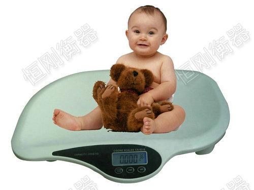 医院体检专用婴儿电子秤