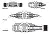 ATOS叠加式单向节流阀,阿托斯HQ/KQ/JRQ型节流阀